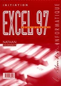 Excel 97 sous Windows, initiation : livre de l'élève