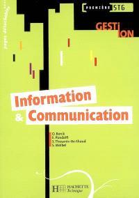 Information & communication, 1re STG gestion