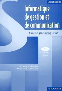 Informatique de gestion et communication : guide pédagogique : option de seconde