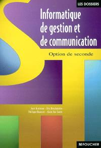 Informatique de gestion et communication option de seconde