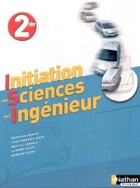 Initiation aux sciences de l'ingénieur : seconde, enseignement de détermination