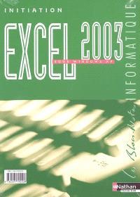Initiation Excel 2003 sous Windows XP
