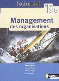 Management des organisation, 1re STG