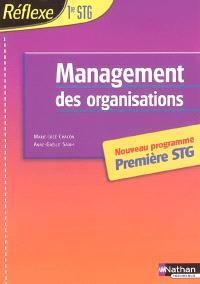 Management des organisations : Première STG
