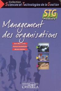 Management des organisations 1re STG