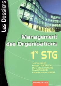 Management des organisations 1re STG