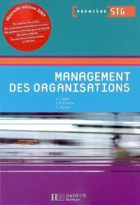 Management des organisations première STG