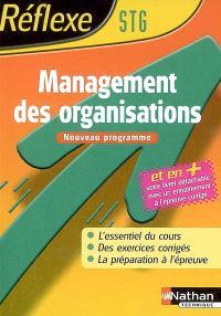 Management des organisations STG : nouveau programme