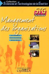 Management des organisations, STG terminale : feuillets détachables