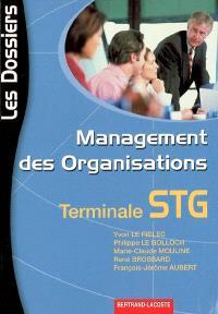 Management des organisations, terminale STG