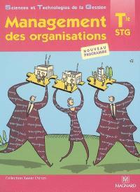 Management des organisations, terminale STG : nouveau programme