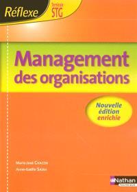 Management des organisations, terminale STG : pochette de l'élève