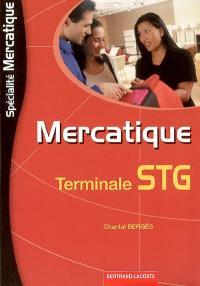 Mercatique terminale STG spécialité mercatique