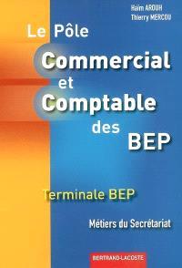Pôle commercial et comptable des BEP : terminale BEP métiers du secrétariat