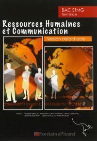 Ressources humaines et communication bac STMG terminale : version détachable