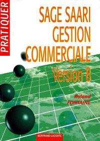 SAGE-SAARI gestion commerciale 100 (version 8 en euros)