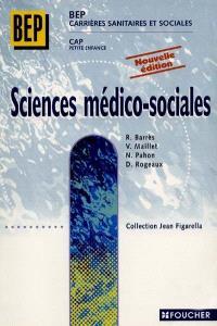 Sciences médico-sociales, BEP CSS, CAP petite enfance : première et deuxième années