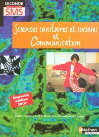 Sciences sanitaires et sociales et communication, seconde, enseignement de détermination SMS