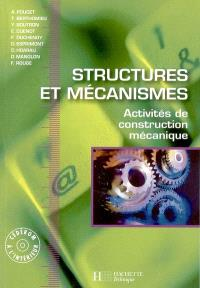 Structures et mécanismes : activités de construction mécanique