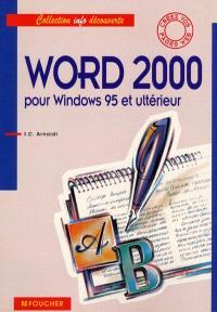 Word 2000 pour Windows 95 et ultérieur