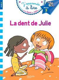 La dent de Julie : niveau 3