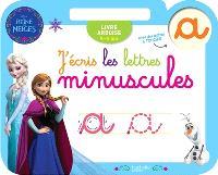 J'écris les lettres minuscules : La reine des neiges : 4-6 ans