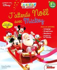 J'attends Noël avec Mickey : jeux et activités 3-5 ans