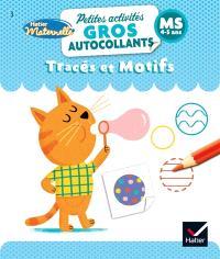 Tracés et motifs : MS, 4-5 ans