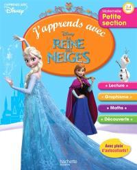 J'apprends avec la Reine des Neiges : petite section, 3-4 ans