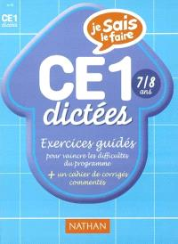 Dictées CE1 : exercices