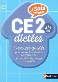 Dictées CE2 : exercices