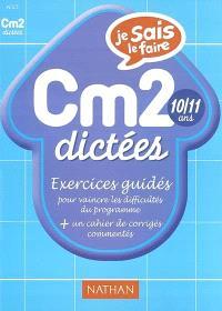 Dictées CM2 : exercices