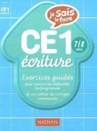 Ecriture CE1 : exercices