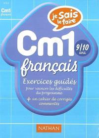 Français CM1 : exercices
