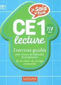 Lecture CE1 : exercices