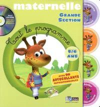 Maternelle, grande section : 5-6 ans
