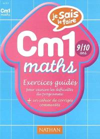 Maths CM1 : exercices