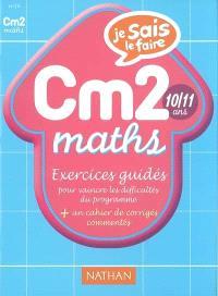 Maths CM2 : exercices