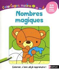 Nombres magiques : 3-4 ans, petite section