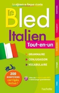Bled italien : tout-en-un : grammaire, conjugaison, vocabulaire