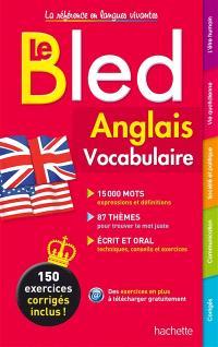 Bled anglais : vocabulaire