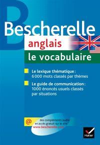 Anglais, le vocabulaire