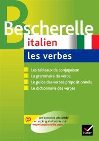 Italien, les verbes