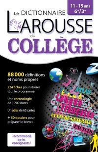 Dictionnaire du collège, 11-15 ans, 6e-3e
