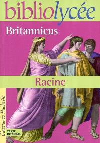 Britannicus : livre de l'élève