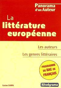 La littérature européenne