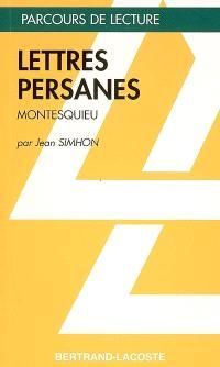 Lettres persanes, Montesquieu