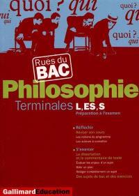 Philosophie (séries générales et technologiques)