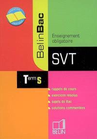 SVT, terminale S, enseignement obligatoire : nouveau programme