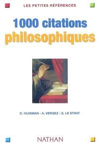1.000 citations philosophiques